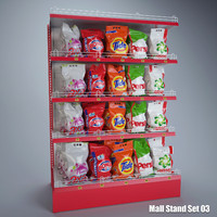 3d detergent stand mall