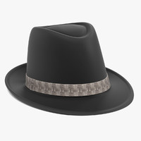 3ds max fedora hat