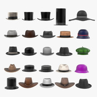 3ds large hats