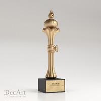 3d model statuettes cnc