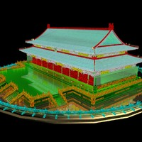 chinese forbidden city 3d max