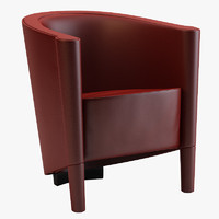 moroso rich armchair 3d 3ds