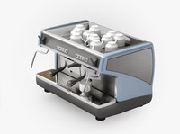 3d model coffee machine