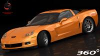 3dsmax chevrolet corvette z06 2005