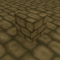 Cartoon Stone Brickwork