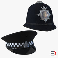 Uk Police Hats Collection