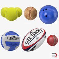 3ds max sport balls 2