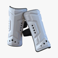 soccer shinguard 3D models