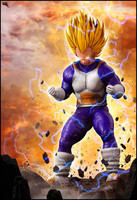 3d vegeta dragon ball model