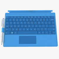 microsoft surface 3 keyboard 3d max