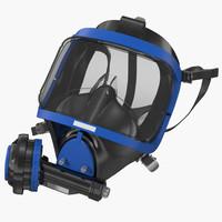scuba mask 3 generic 3d 3ds