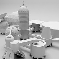 space base 3d max