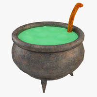 maya halloween witch pot