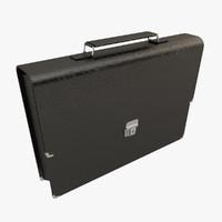 briefcase case 3d model