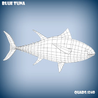 base mesh tuna obj