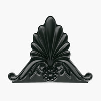 3d decorative element empire model