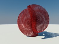 contemporary sculpture c4d