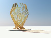 3d model contemporary sculpture