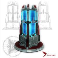 3dsmax sci-fi force field generator