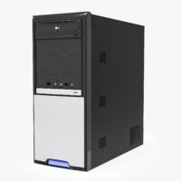 computer tower 3d model