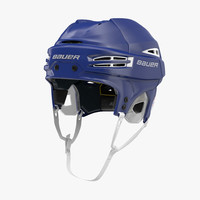 3d hockey helmet bauer re-akt model
