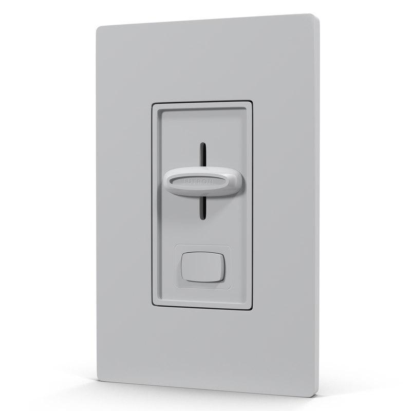 3d model of Dimmer Switch 01.jpg
