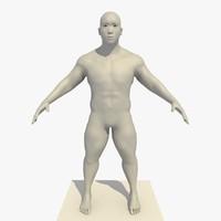 3d model realistic base mesh 25