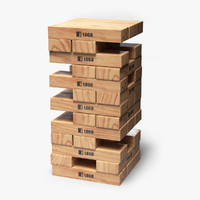 max jenga gaming blocks