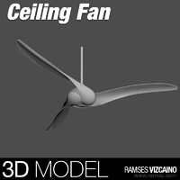 3d blade indoor ceiling fan