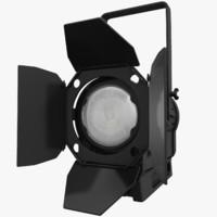 litepanels spotlight studio light 3d model