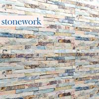 3ds max stone mosaic
