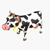 max cartoon cow animate