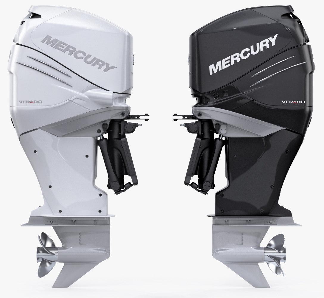 лодочный мотор меркурий верадо 200