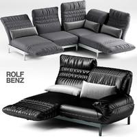 3d sofa rolf benz