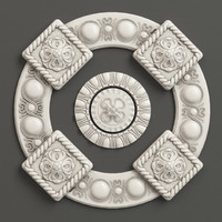 3ds max rosette settings