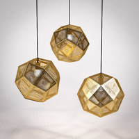 Tom Dixon Etch Shade Brass