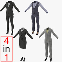 3ds women suits 2