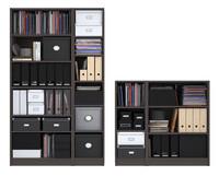 3d billy bookcase medium brown