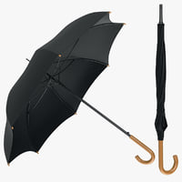 umbrella classic 3d model