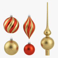 Christmas Ornament Set 5