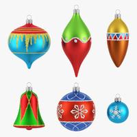 christmas ornament 3d max