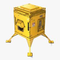 3d gasoline generator model