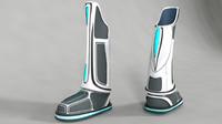 Futuristic Sci-fi shoe