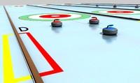 3d curling stones lanes