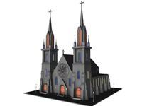 medieval church 3d model