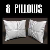 pillow interiors 3d obj
