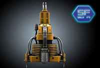 3d enigine reactor