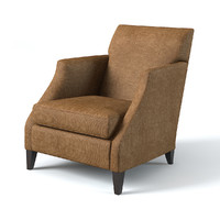 flexform mood armchair 3d model