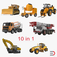 3ds construction vehicles 2