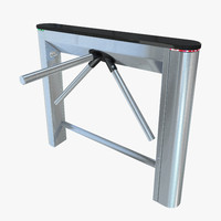 3d turnstile model